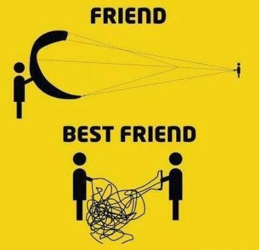 draugas ir geriausias draugas
