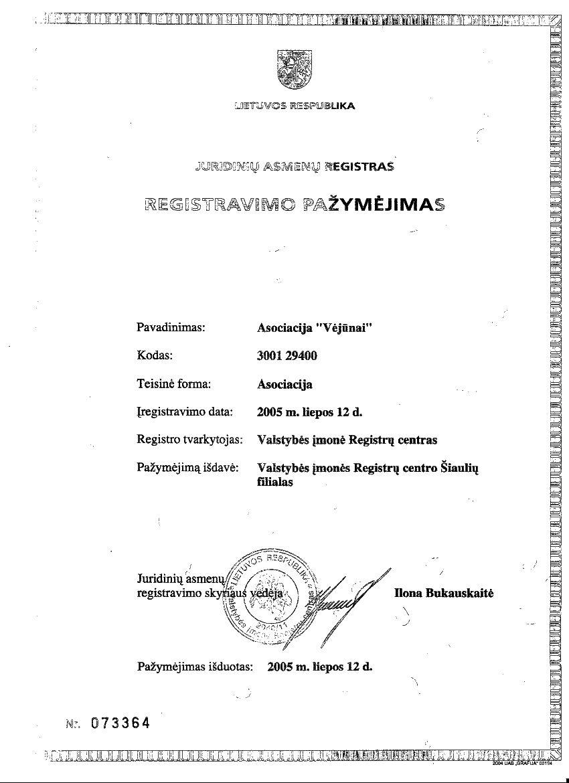 VEJUNU REGISTRAVIMO PAZYMEJIMAS_sumazinta