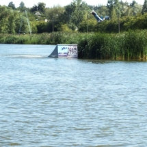 Arturas Dudenas Fox Spot kicker2 railey wakeboard Naish