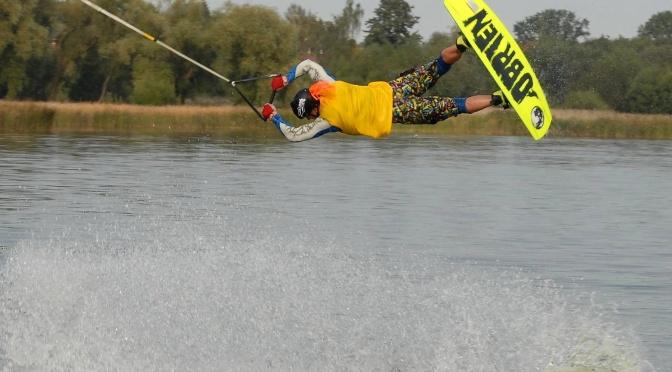 Artūras Dudėnas wakeboarding Double S-bend mokymasis