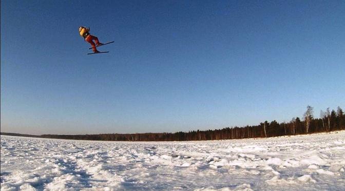 Artūras Dudėnas blogas_49 su kaitu ir kalnų slidėm ant ledo