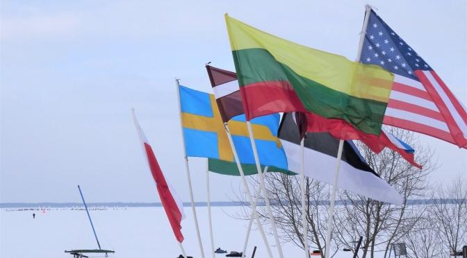 Artūras Dudėnas #71 Vakarinis kaitavimas po DN Ice World Championships 2018 Rekyva Lake