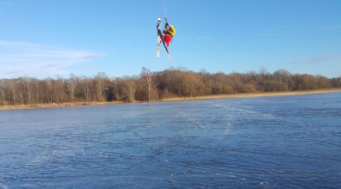 Artūras Dudėnas #76 Skraidom ant ledo su slidėm ir jėgos aitvaru