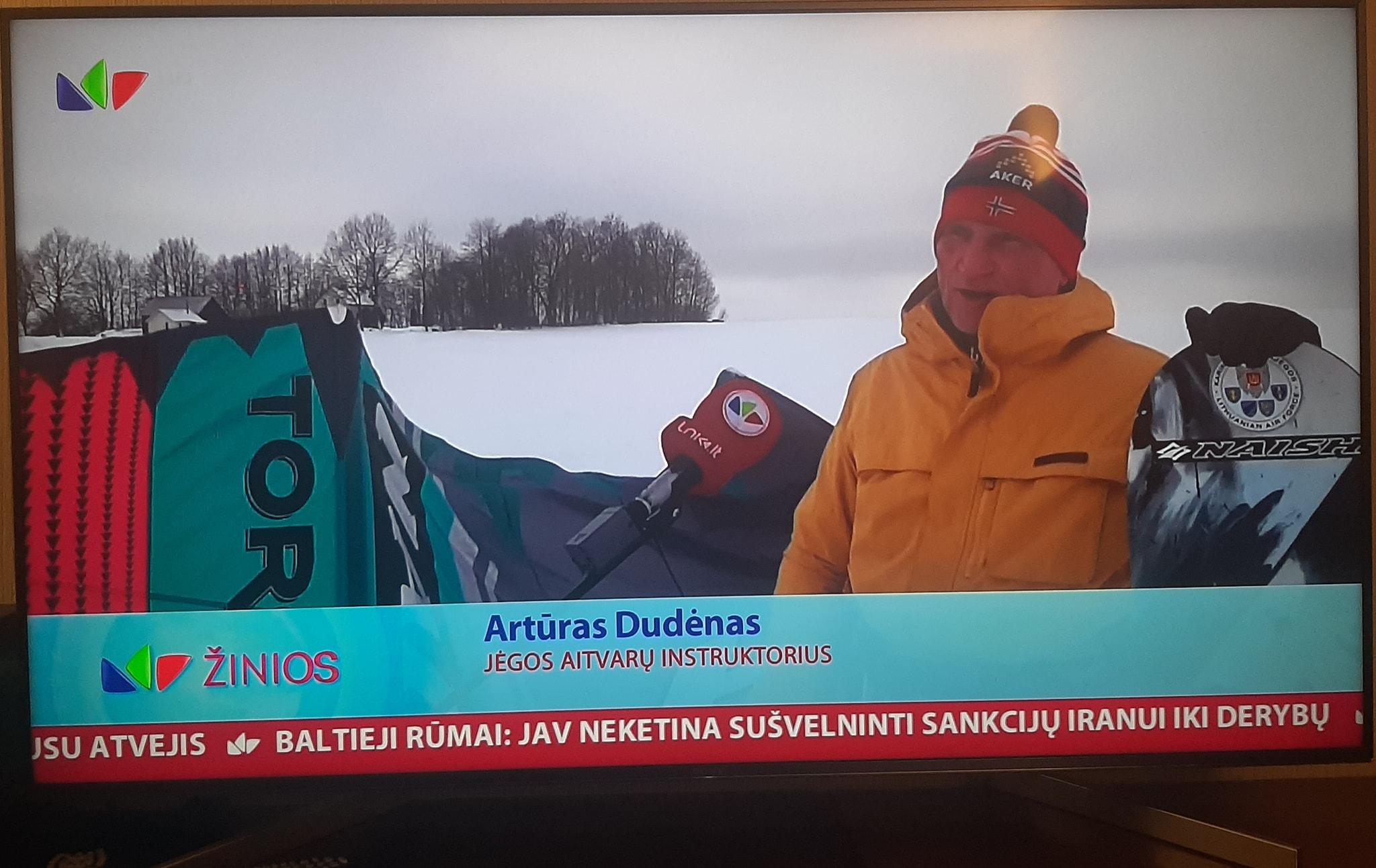Artūras Dudėnas #139 Jėgos aitvarai Šiauliuose pe LNK TV