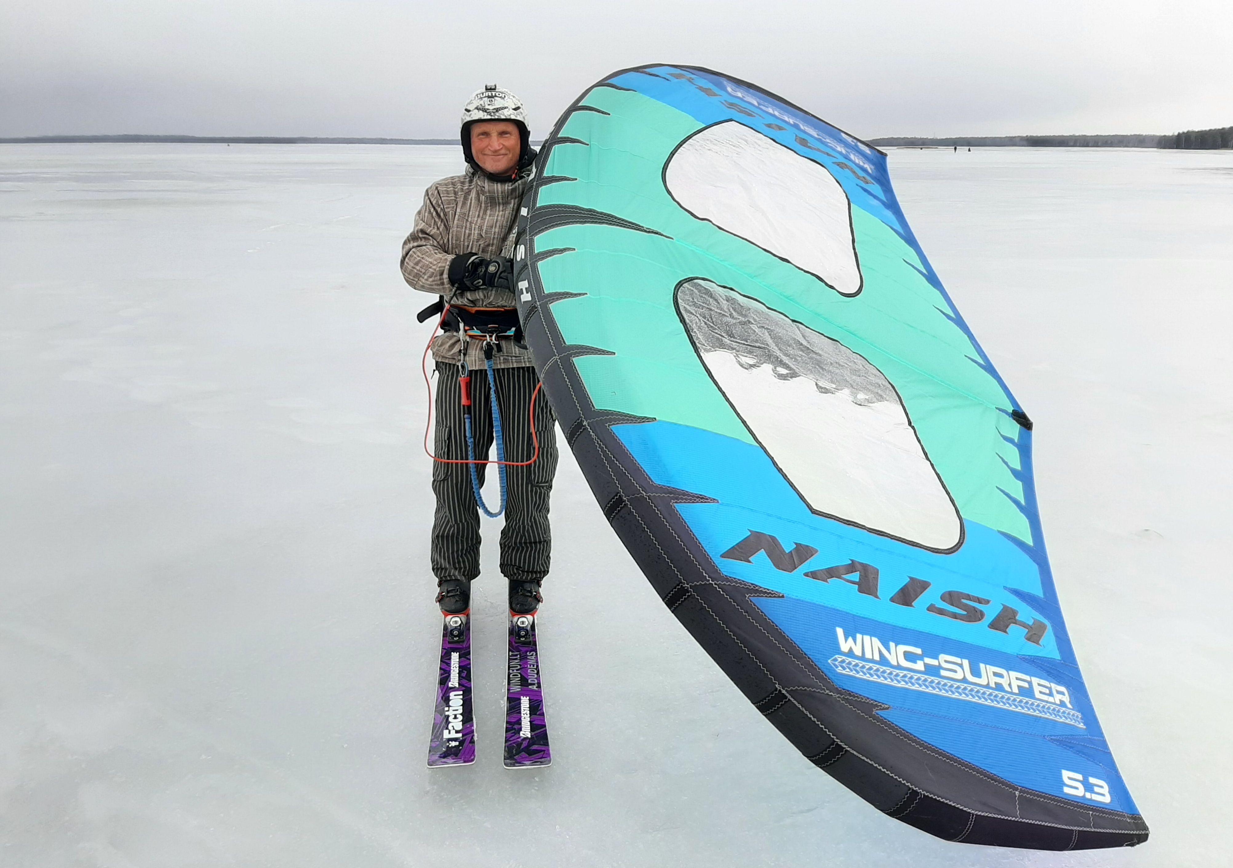 Artūras Dudėnas #144 S25 Naish Wing-surfer max speed 51,3km/h Europe