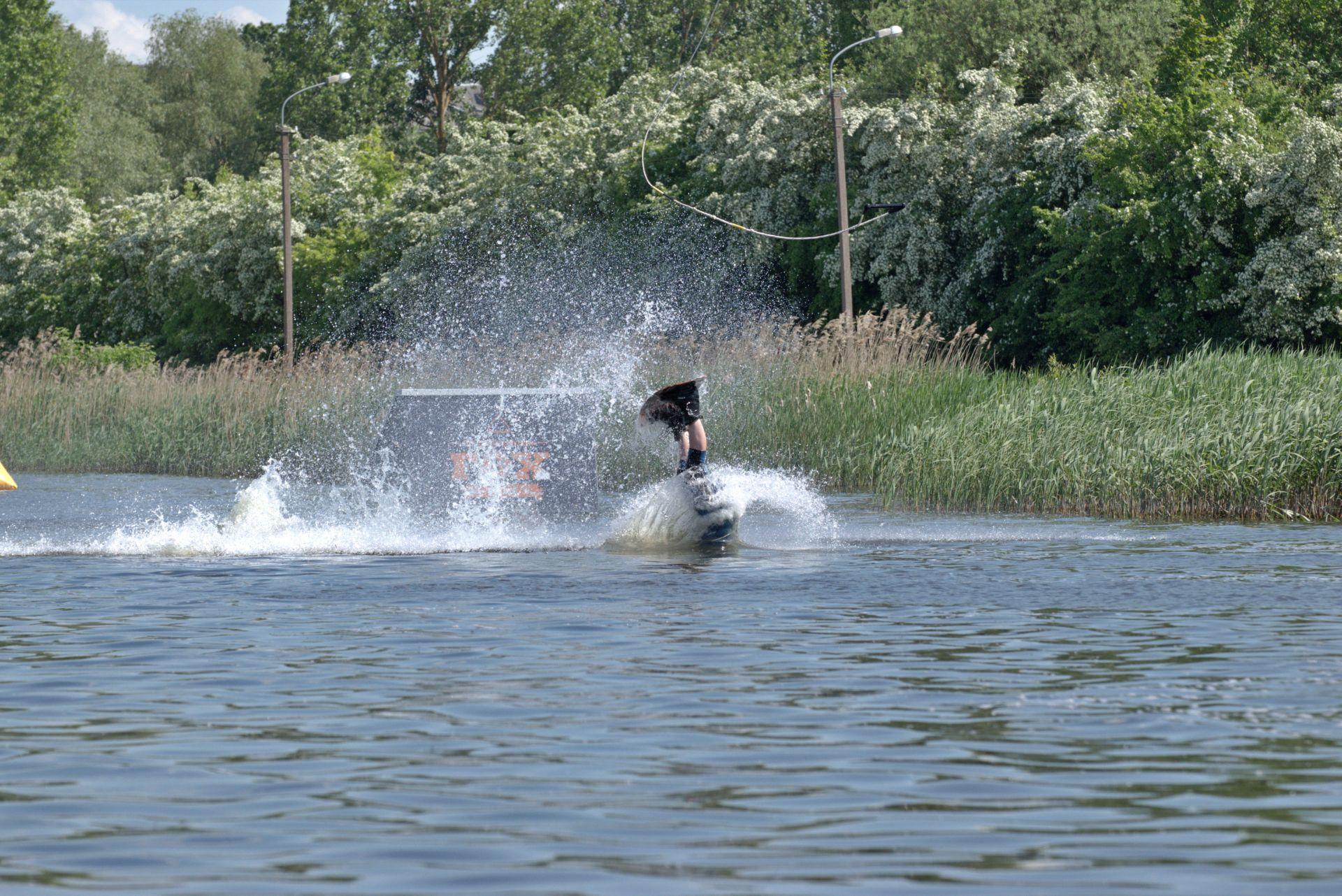 Artūras Dudėnas #147 Belaukiant vėjo sportuojam wake Fox Spote